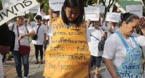 Street vendors on the march in Bangkok   News by Samui Times