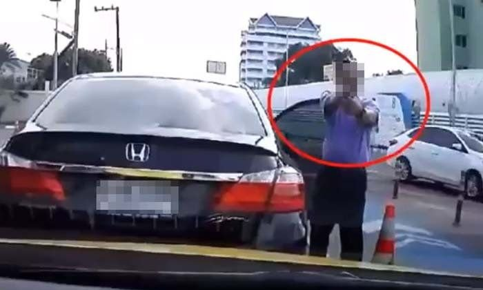 Man who pulled gun on driver at Chaengwattana turns out to be anti-corruption official | Samui Times
