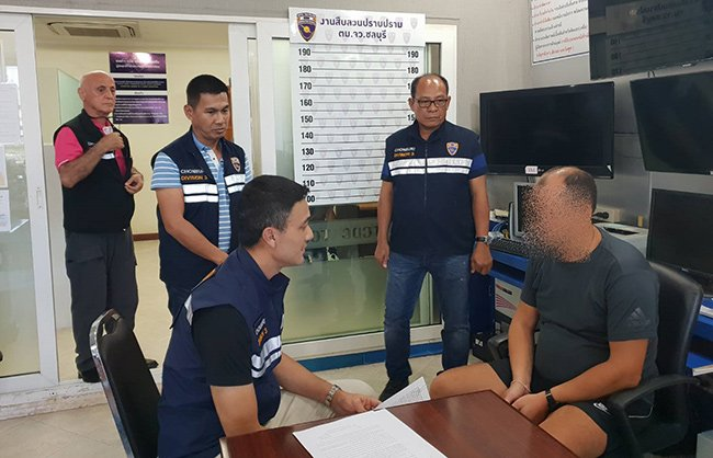Russian wanted on Interpol red warrant arrested in Pattaya | Samui Times