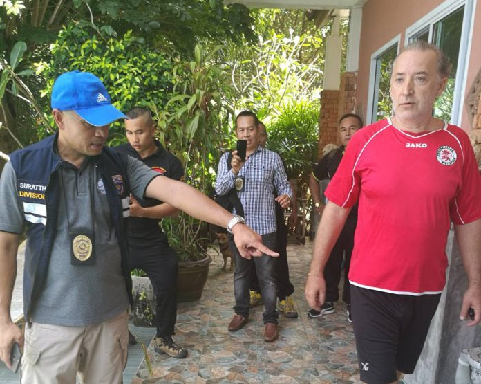 Czech arrested on Koh Tao after overstaying visa 6 years | Samui Times