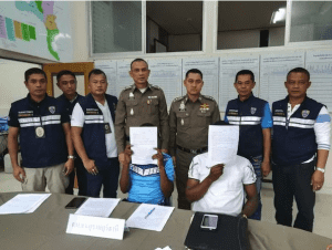 Two Cameroon men arrested in Surat Thani for overstaying visa by three years | News by Samui Times