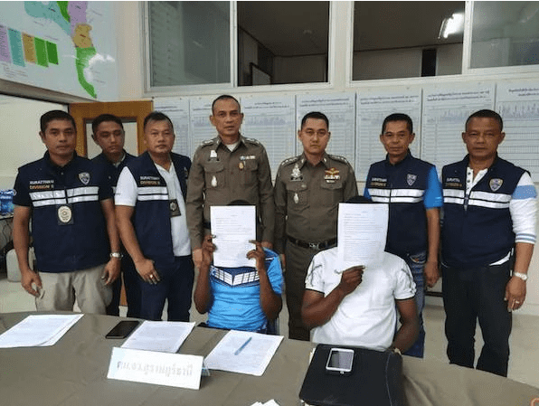 Two Cameroon men arrested in Surat Thani for overstaying visa by three years | Samui Times