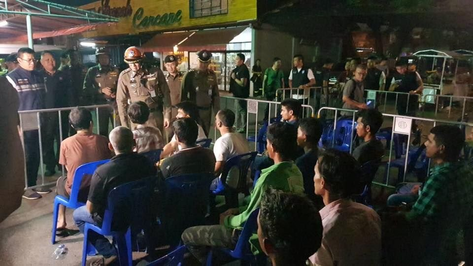 542 foreigners arrested in latest weekly crackdown | Samui Times