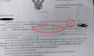 Now what! Thai woman gets a police ticket for not wearing a helmet - in a car! | News by Samui Times