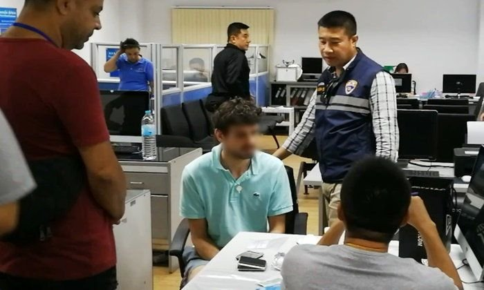 British man arrested in Chiang Mai for allegedly overstaying visa, abusing 'ice' | Samui Times