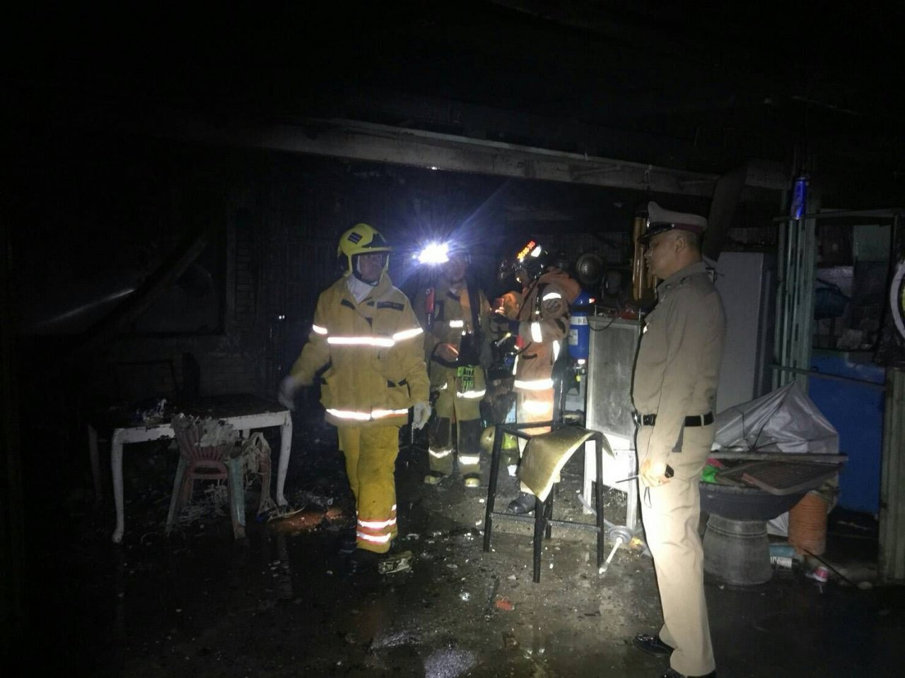 Couple, son killed in Chiang Mai house fire | Samui Times