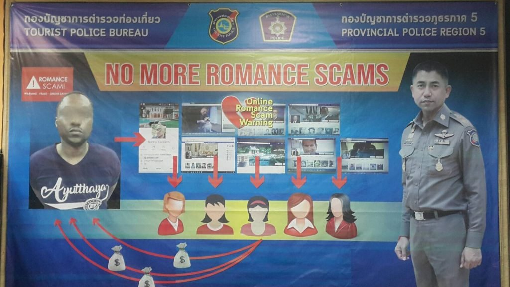 Immigration police step up operations against romance scammers | Samui Times