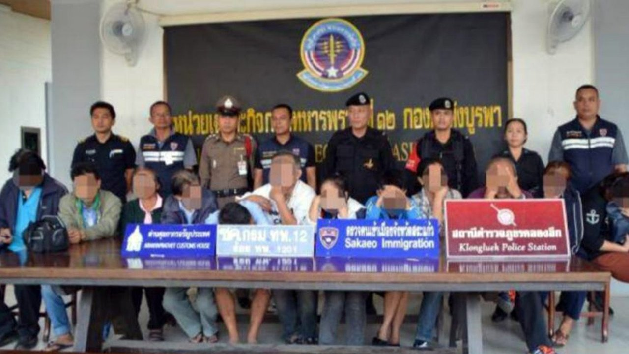 12 Thais arrested trying to re-enter kingdom illegally after gambling losses | Samui Times