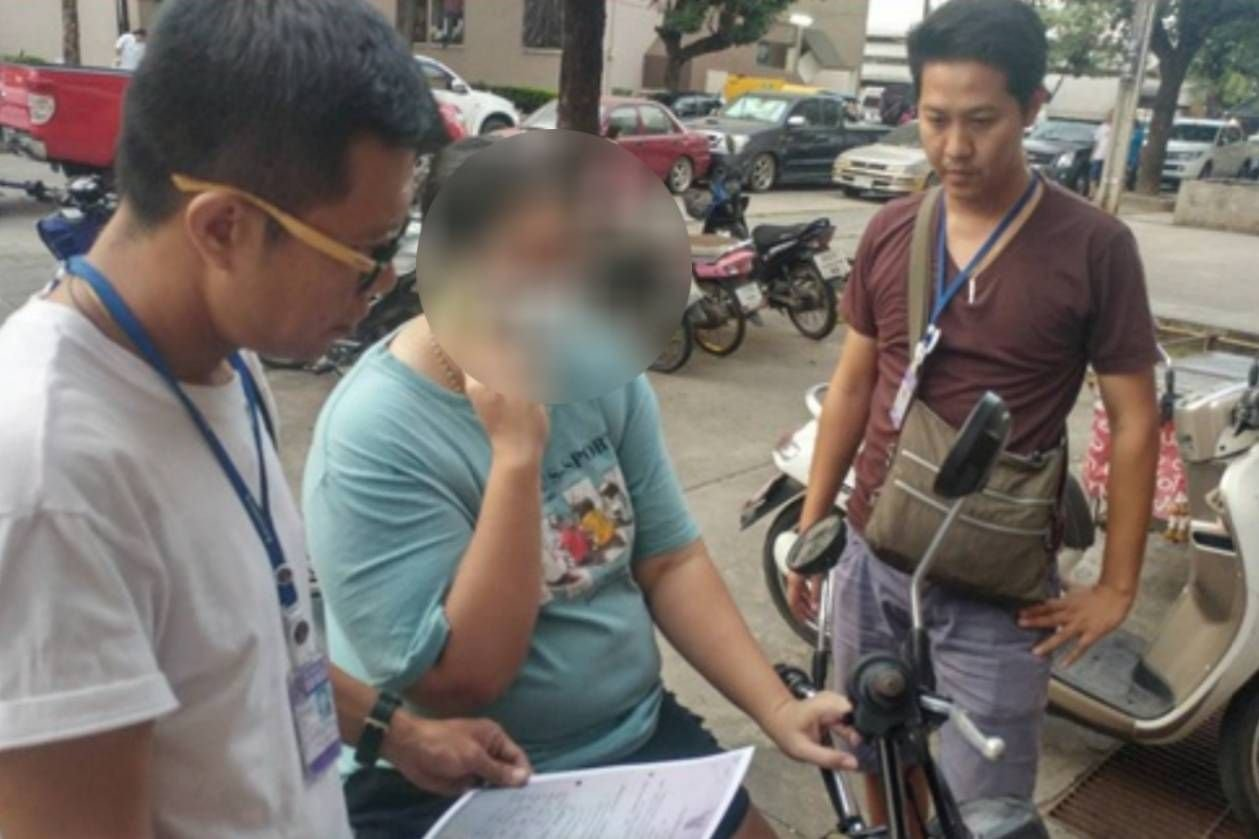 Woman who allegedly used attractive woman's picture to dupe businessman is arrested | Samui Times