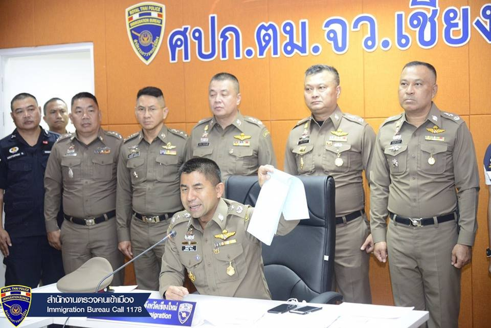 Four Thais and seven from Myanmar arrested over illegal work and travel | Samui Times