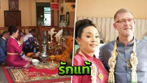 Danish man marries his Thai ladyboy sweetheart - but has never asked if she's a he! | News by Samui Times