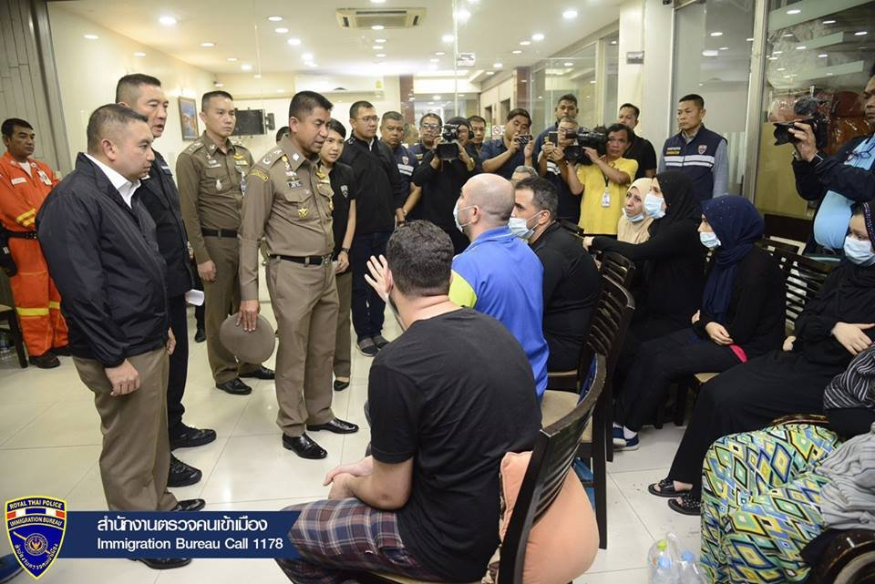 "Palestinians arrested in Bangkok – Immigration say some acting as ""Nana Mafia"" 