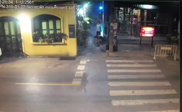 Chilling CCTV footage shows Thai man with NZ tourist moments before she was raped | Samui Times