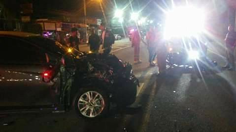 Two tourists killed in motorbike collision with car in Chalong | Samui Times