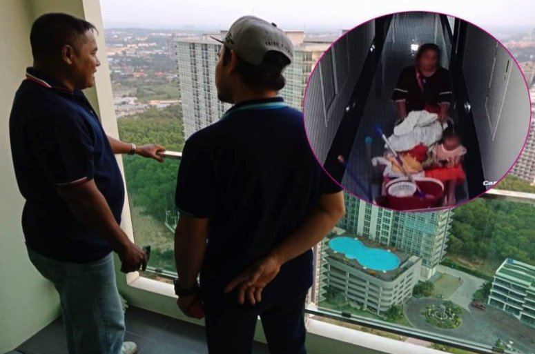 """Tragedy after """"forgetful maid"""" left her 6 year old in room on Pattaya condo's 32nd floor 