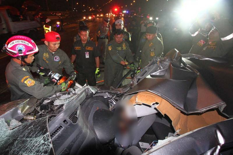 Same Same! After the deadly days road carnage continues as normal | Samui Times