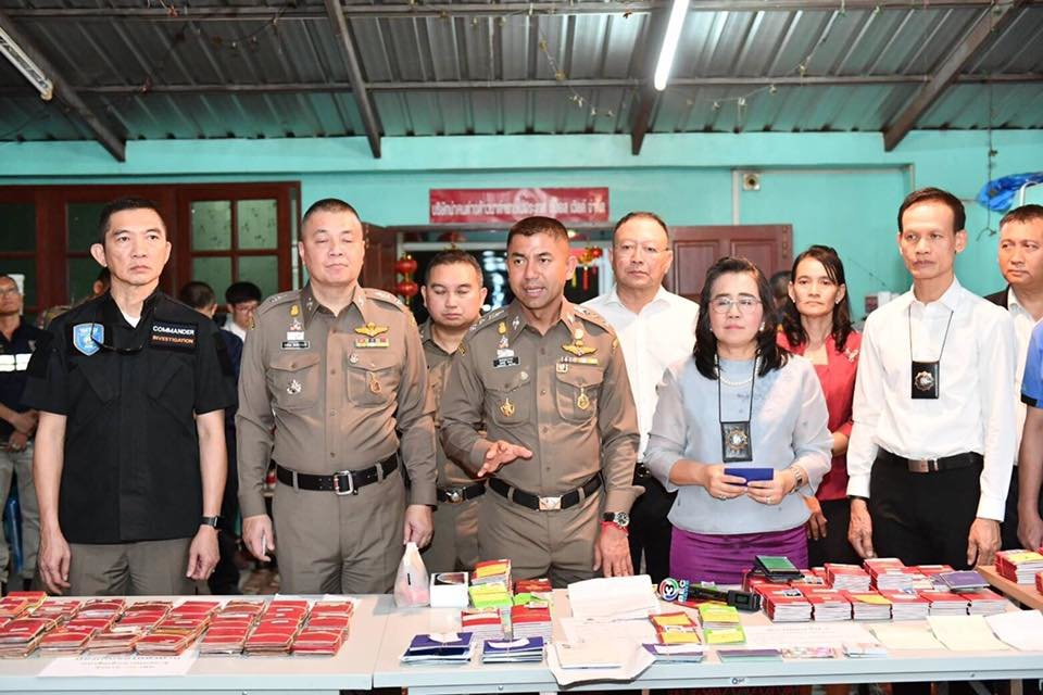 Big Joke: Busts company issuing fake visas and 90 day stamps | Samui Times