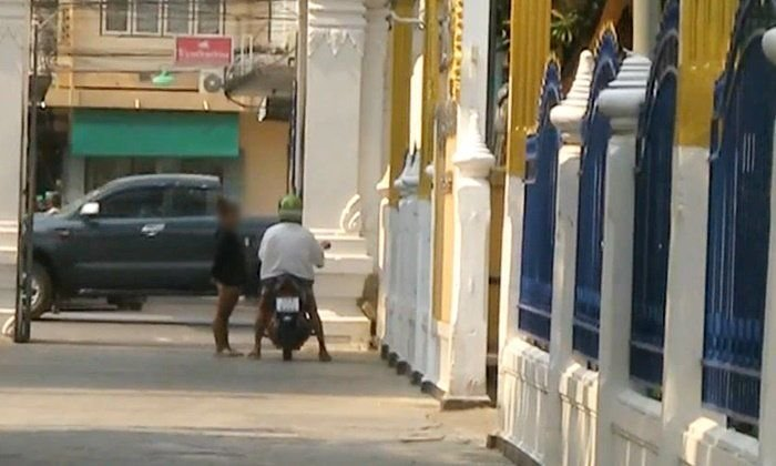 Street walking prostitution rife at Nakhon Sawan temple | News by Samui Times
