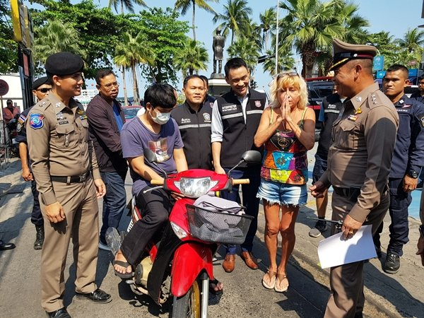 Suspect arrested, stolen 14k gold necklace returned to Russian tourist | Samui Times
