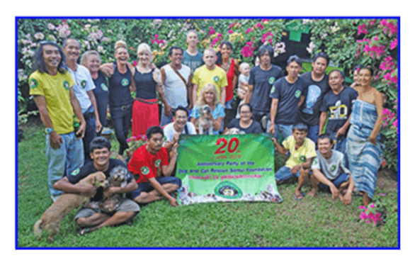 1st of April 2019: 20 Years Dog and Cat Rescue Samui Foundation | Samui Times