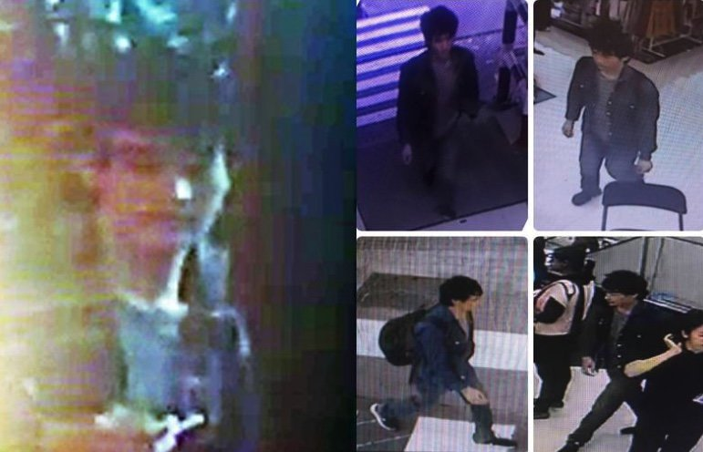 Do you know this man? New views of man who stole 4 million in gold from Big C shop | Samui Times