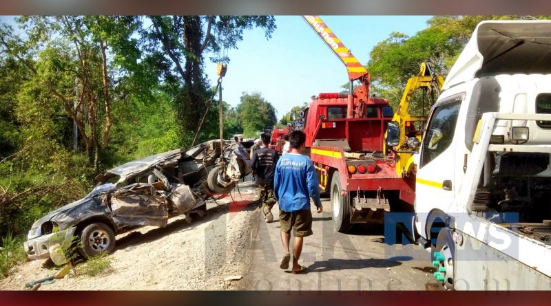 Three monks dead as lay driver drops off to sleep and hits a tree | Samui Times