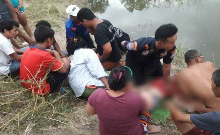 Two young boys drown trying to cool down in Sa Kaew pond | Samui Times