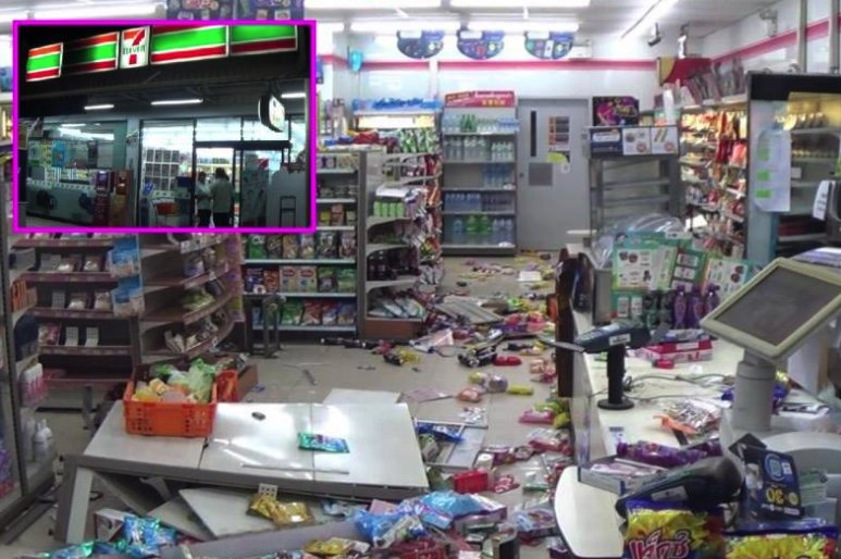 """Who killed my dad?"" Hammer wielding druggie trashes 7-Eleven – then goes after locals 