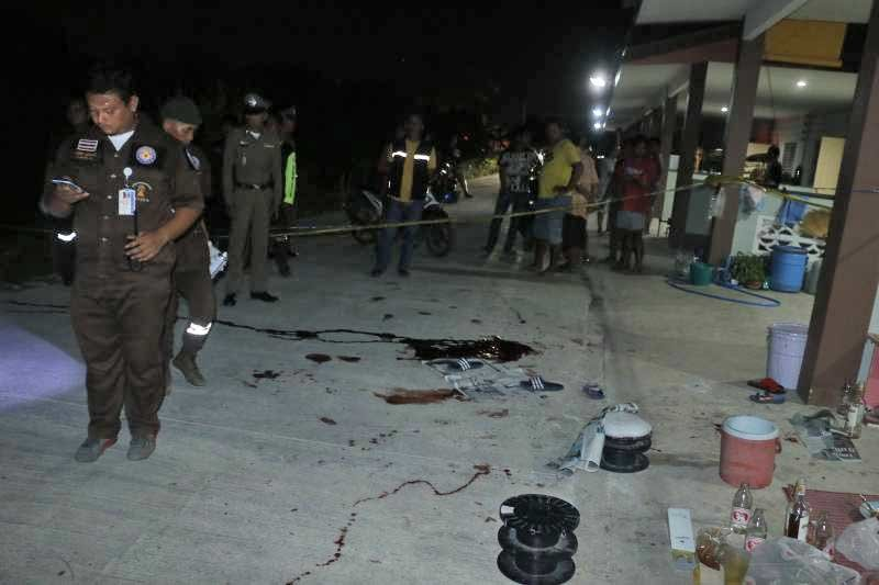 "Three men shot dead ""for revving their bikes"" 