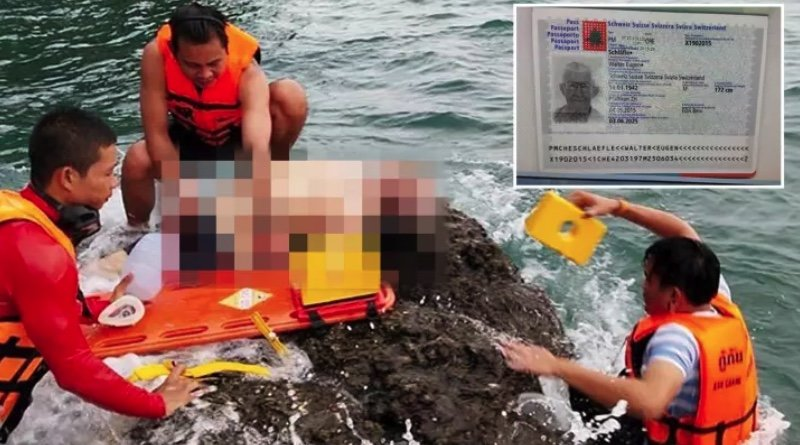Swiss septuagenarian pulled from the sea at Koh Chang – dead from suspected heart attack | Samui Times