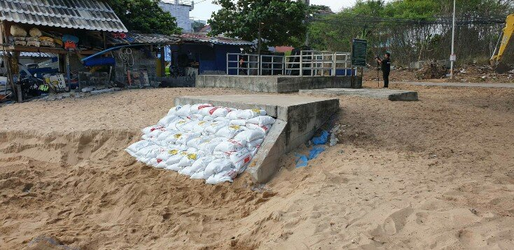 Jomtien's Black Sea: Sticking a plaster on a gaping wound! | Samui Times