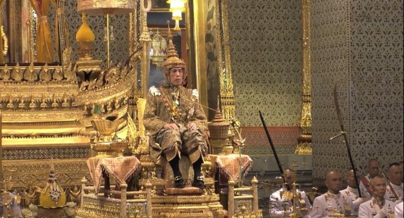 His Majesty the King now enthroned | Samui Times