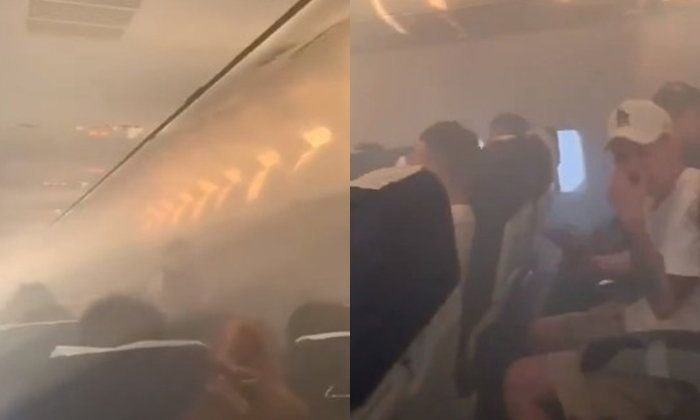 Emergency! China bound plane returns to Don Mueang as cabin fills with smoke | Samui Times