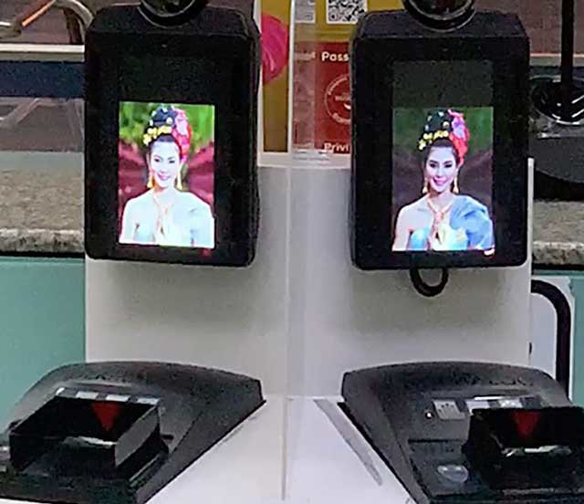 Fingerprint and facial recognition now scanning passengers at Don Mueang Airport | Samui Times