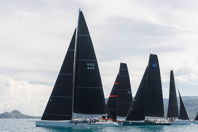 Getting close at the top after Day 4 of the 2019 Samui Regatta   Samui Times