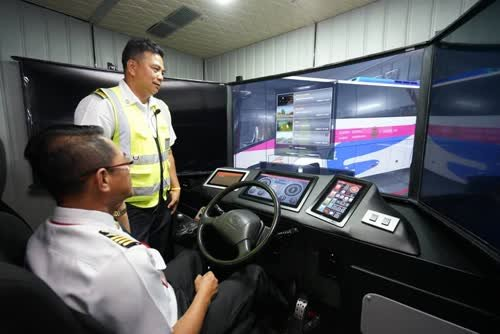 Transport Company opens bus simulator center - Samui Times