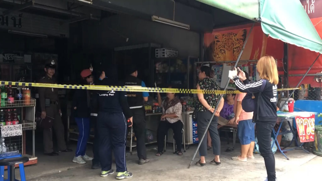 Two injured as ten year old air-con explodes at Chiang Mai shop | Samui Times