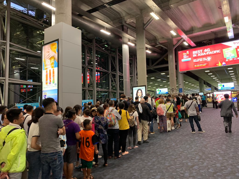 Welcome to Thailand – and welcome to immigration queues! | Samui Times