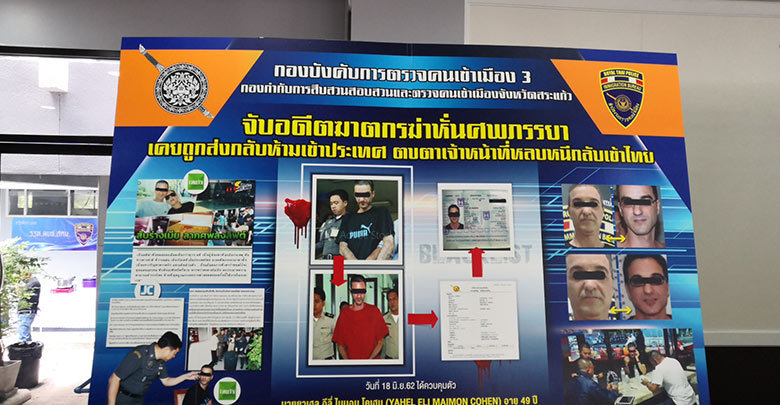 Israeli who was deported after dismembering wife in Bangkok caught in Thailand again | Samui Times