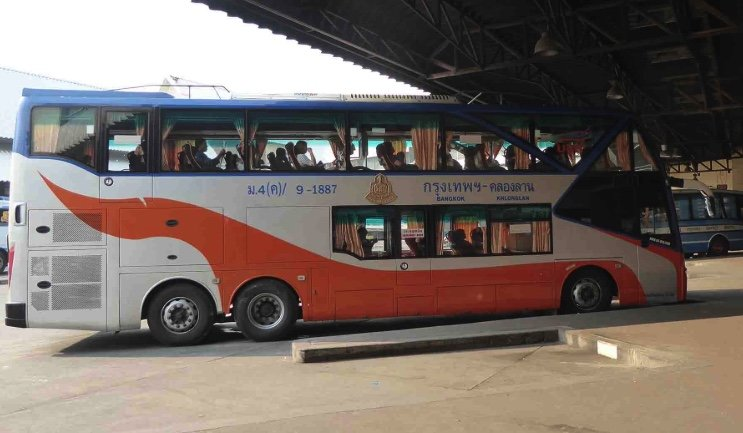 Bus conductor fired, firm fined for molesting ladyboy on board | Samui Times