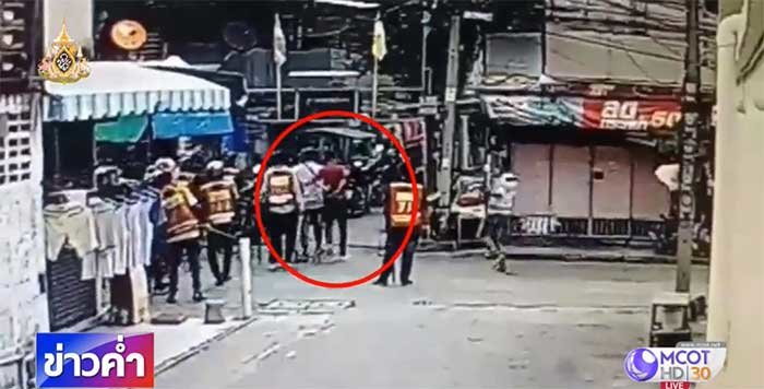 Deadly motorcycle taxi clash: New CCTV footage of shooter emerges | News by Samui Times
