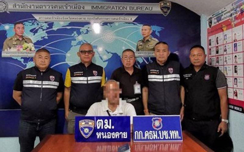US pensioner arrested for staying in Thailand illegally | Samui Times