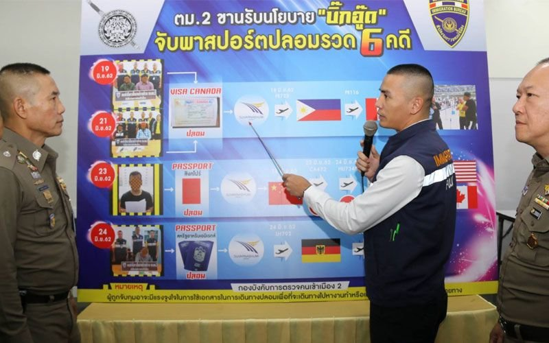 Big Oud follows in Big Joke's footsteps: SIX arrested on fake visa/passport charges | Samui Times