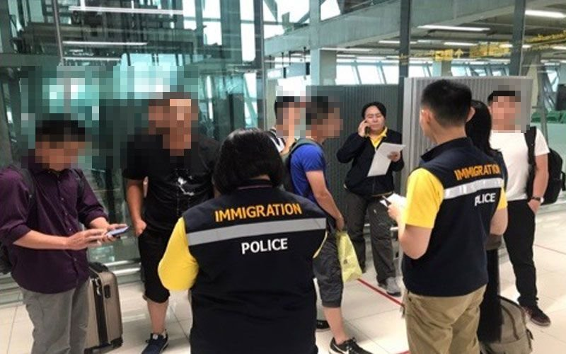 Illegal tourists finally found at Bangkok airport | Samui Times