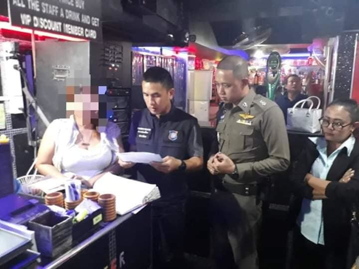 MORE evidence of prostitution found in Pattaya: Three arrested after raid on Walking Street bar | Samui Times