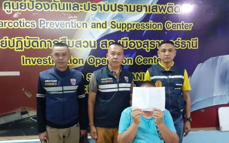 Surat Thani immigration arrest German and four Indians on overstay | Samui Times