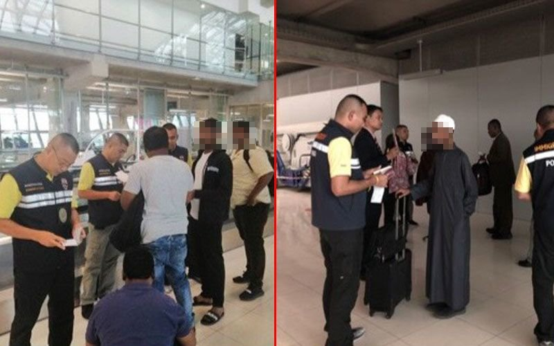 Group of Indians and Ethiopians deemed not genuine tourists – denied entry by immigration | Samui Times