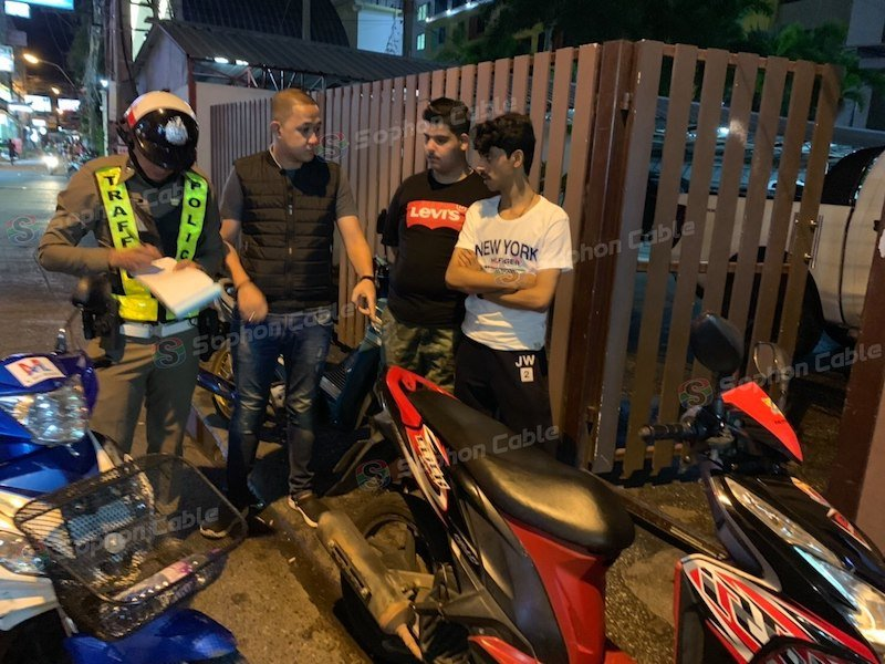 Crackdown! Tourists in Pattaya face jail for riding motorcycles without a licence | Samui Times