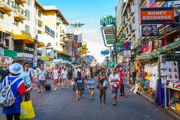 Out with the backpackers in with the Chinese – Khao San Road makeover continues | Samui Times