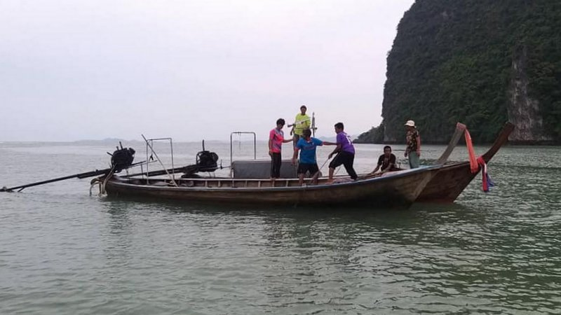 Body of woman found near James Bond Island in search for missing fishing couple | Samui Times